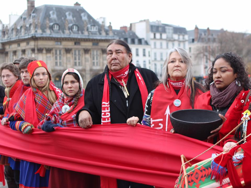 """The Paris COP21 failure demonstrates climate justice lies beyond the """"Red Line"""""""