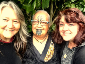 Movement Rights pictured with Hine Kohu Morgan, our amazing delegation partner.