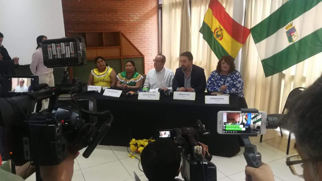 Movement Rights Joins International Rights Tribunal in Bolivia to Support Defense of TIPNIS National Park