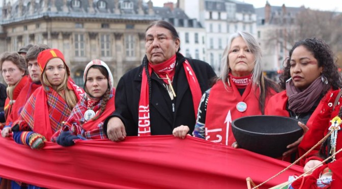 "The Paris COP21 failure demonstrates climate justice lies beyond the ""Red Line"""
