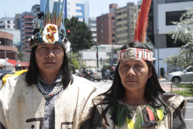 Read more about the article Indigenous Peoples Standing up to Ecuador & Big Oil