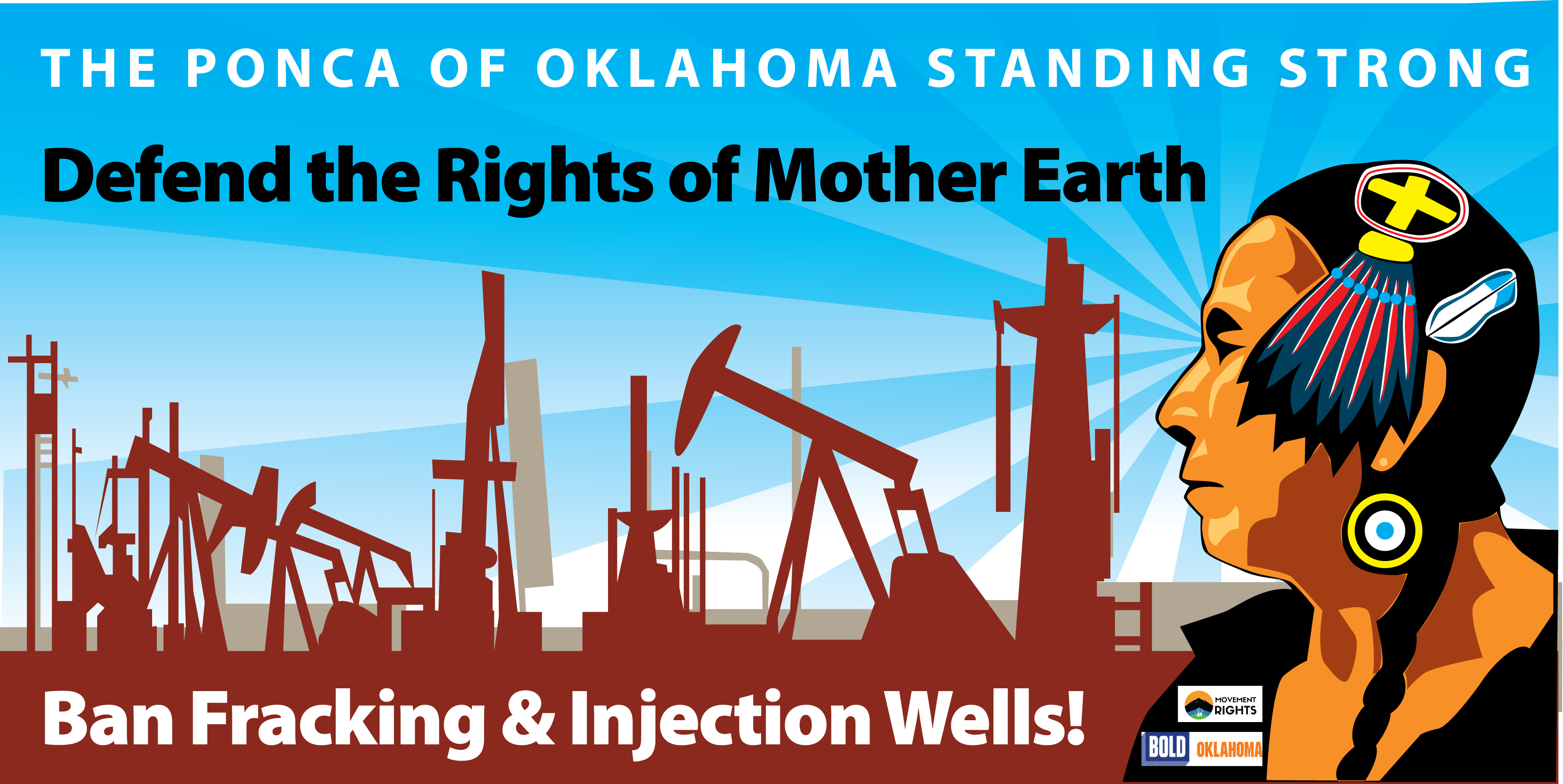 Media Release: PONCA NATION CONSIDERS Rights of Nature FRACKING & INJECTION BAN