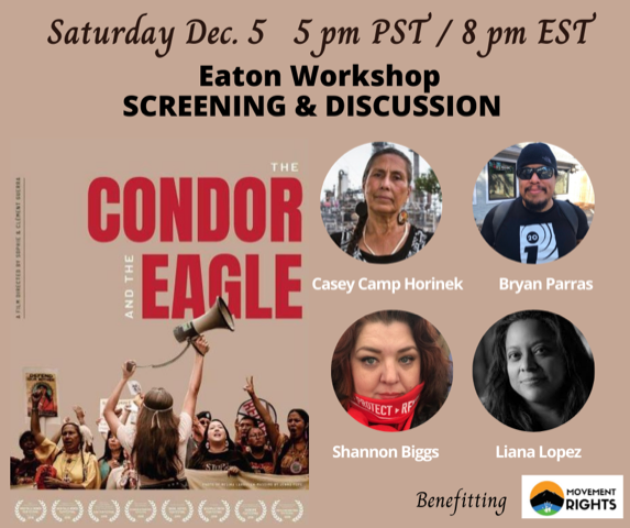 JOIN US online Dec 5 & 6 for The Condor & the Eagle