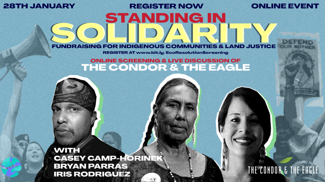 Jan 28th: Join us for The Condor and The Eagle