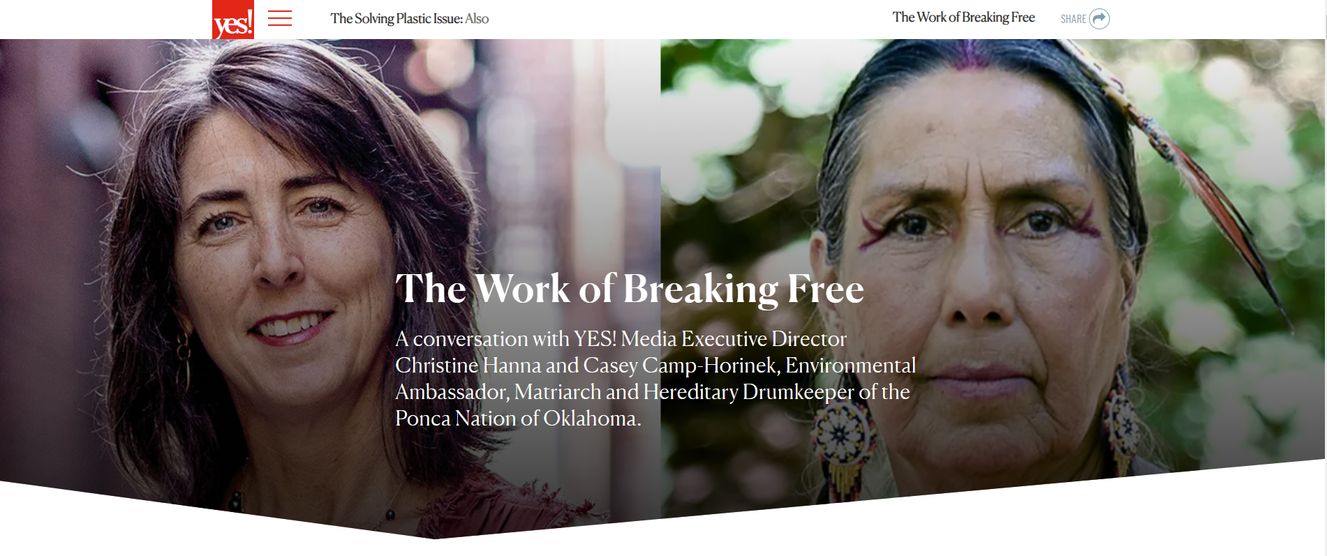 Read more about the article Interview:  The Work of Breaking Free